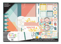 The Happy Planner - Me and My Big Ideas - Classic Teacher Box Kit - Teaching Is Tough (Dated, Teacher)