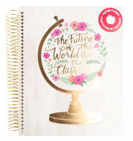 Recollections - Creative Year - Medium Planner - Future of the World - Teacher Planner (Undated, Horizontal) - Hardcover