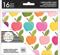 Me and My Big Ideas - The Happy Planner - Folded Cards - Teacher/Student - Apple
