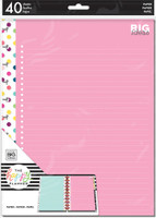 Me and My Big Ideas - The Happy Planner - BIG Note Paper - Big Ideas