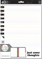 Me and My Big Ideas - The Happy Planner - BIG Note Paper - Multi Stripe