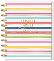 Me and My Big Ideas - Big Happy Planner - Teachers Gonna Teach - 12 Months (Dated, Teacher)