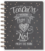 Me and My Big Ideas - Big Happy Planner - Teach From The Heart - 12 Months (Dated, Teacher)