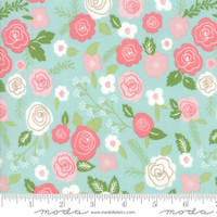 Moda Fabric - Lollipop Garden - Lella Boutique - Sky #5080 15
