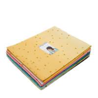 Moda Fabric Precuts - Half Hard Bundle - Ombre Confetti Metallic by V & Co