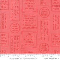 Moda Fabric - Lollipop Garden - Lella Boutique - Raspberry #5081 13