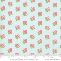 Moda Fabric - Lollipop Garden - Lella Boutique - Sky #5082 15