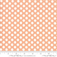 Moda Fabric - Lollipop Garden - Lella Boutique - Tangerine #5085 18