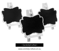 3 Mini Blackboard - White