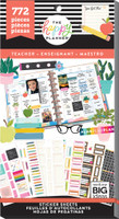 Me and My Big Ideas - The Happy Planner - Value Pack Stickers - Teacher (Exclusive)