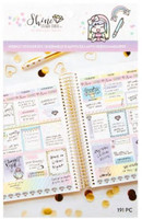 Craft Smith - Shine Sticker Studio - Sticker Book - Weekly Sticker Kit - Diamonds
