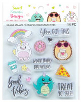 Craft Smith - Sweet Kawaii Designs - Clear Stamps