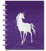 ***IMPERFECT*** - Happy Planner - Me and My Big Ideas - Happy Notes - Magical Unicorn - Classic (Dot Grid)