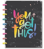 ***IMPERFECT*** The Happy Planner - Me and My Big Ideas - Classic Happy Notes - You Got This (Lined)