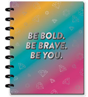 ***IMPERFECT*** The Happy Planner - Me and My Big Ideas - Classic Happy Notes - Be Bold (Sketch - Blank)