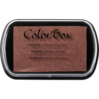 ColorBox Metallic Pigment Ink Pad - Rose Gold