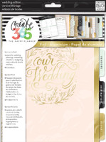 Me and My Big Ideas - The Happy Planner - Wedding Planner Extension Pack - Classic