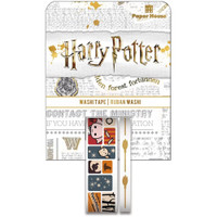 Paper House Licensed Washi Tape - Set of 2 - Harry Potter - Chibi Scenes