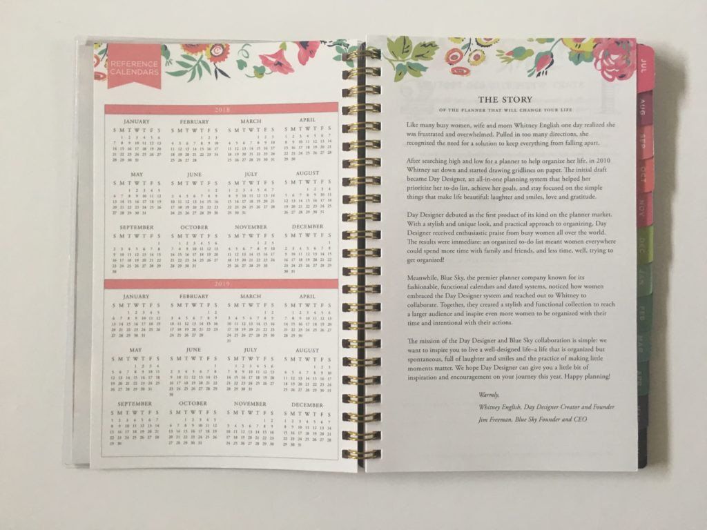 photo relating to Day Designer Planner referred to as Previous - Working day Designer for Blue Sky - Instructional Calendar year Weekly Regular monthly Planner (Dated, Horizontal)