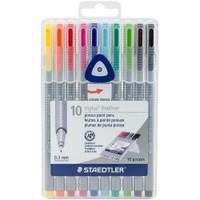 Staedtler Triplus Fineliner Pens - Set of 10