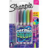 Sharpie - Cosmic Color - Fine Point Markers - Set of 5