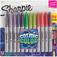 Sharpie - Cosmic Color - Fine Point Markers - Set of 12