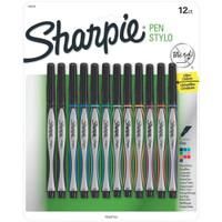 Sharpie - Fine Point Stylo Pens - Set of 12