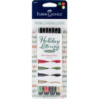 Faber Castell - Holiday Lettering - Pitt Artist Pen - Set of 4