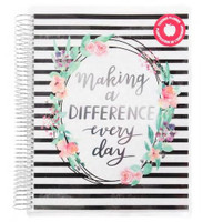 Recollections - Creative Year - Big Teacher Planner - Making A Difference (Undated, Vertical)