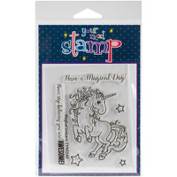 Your Next Stamp - Clear Stamps - Magical Unicorn