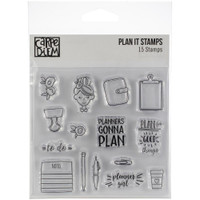 Carpe Diem - Simple Stories - Clear Stamps - Plan It