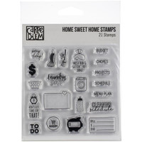 Carpe Diem - Simple Stories - Clear Stamps - Home Sweet Home