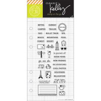 Hero Arts - Kelly Purkey Clear Stamps - Adventure Planner