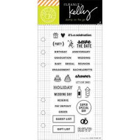 Hero Arts - Kelly Purkey Clear Stamps - Occasion Planner