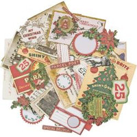 Tim Holtz - Idea-Ology Ephemera Pack - Christmas