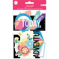 American Crafts - Journal Studio - Ephemera Die Cuts & Tags - Best Day Ever - Amy Tangerine