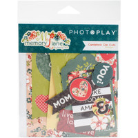 Photoplay Paper - Memory Lane Ephemera Cardstock Die-Cuts