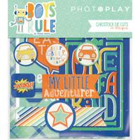 Photoplay Paper - Boys Rule Ephemera Cardstock Die-Cuts