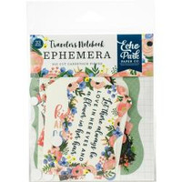 Echo Park Paper - Cardstock Ephemera Die-Cuts - Fancy Flora