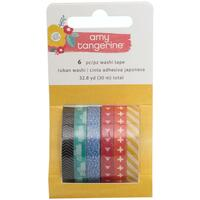 Amy Tangerine - Oh Happy Life - Washi Tapes - Set of 6