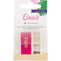 Crate Paper - Washi Tape - Oasis - Set of 2