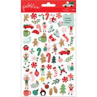 Pebbles - Mini Sticker Book - Merry Little Christmas