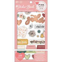 American Crafts - Sticker Book - Pink Paislee