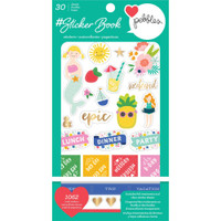 American Crafts - Sticker Book - Pebbles
