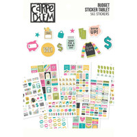 Carpe Diem - Simple Stories - A5 Sticker Book - Budget