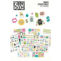 Carpe Diem - Simple Stories - A5 Sticker Book - Budget