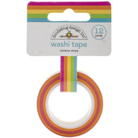 Doodlebug Designs - Washi Tape - Rainbow Stripe