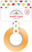 Doodlebug Designs - Washi Tape - Summer Dots