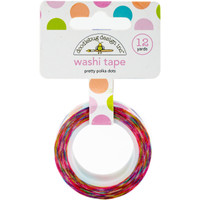 Doodlebug Designs - Washi Tape - Pretty Polka Dots
