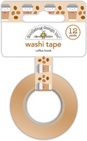 Doodlebug Designs - Washi Tape - Coffee Break